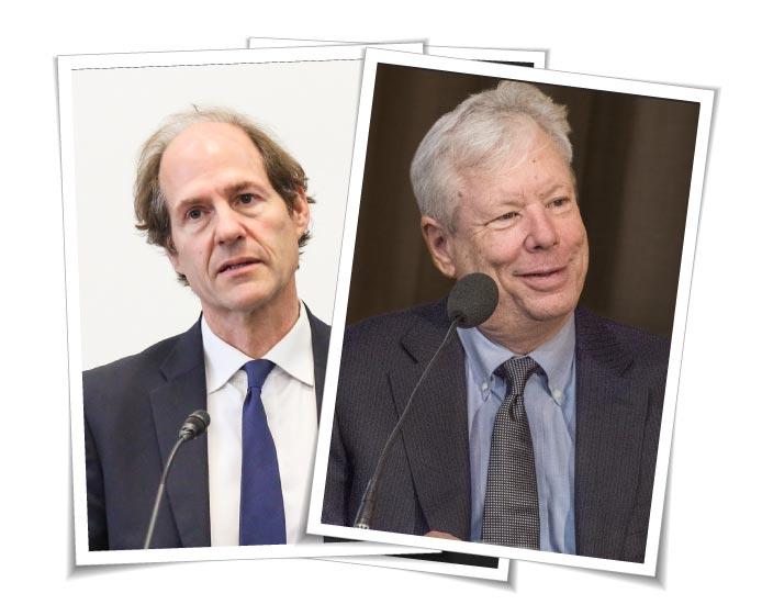 Richard Thaler und Cass Sunstein Nudging