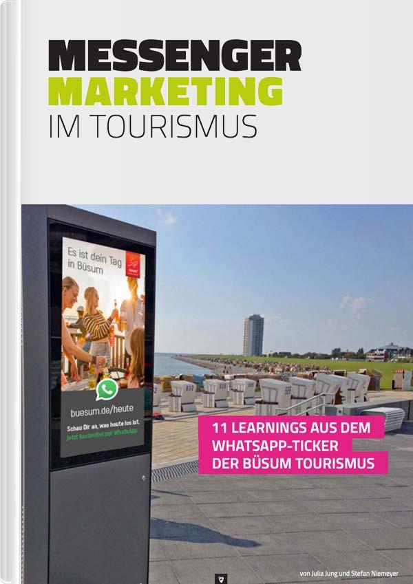 Messenger Marketing - das E-Book im Tourismus