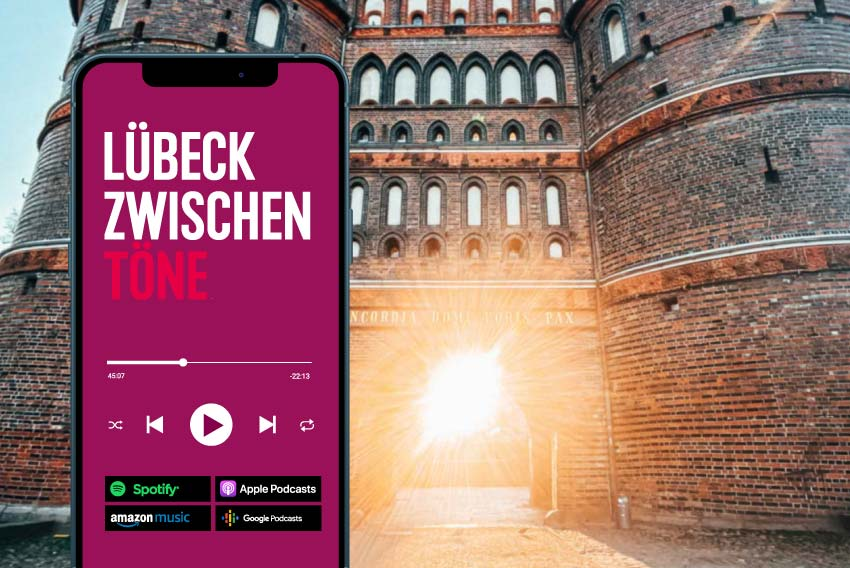 Tourismus Referenzen mit Podcast, Blog und Digital-Magazin für die Lübeck Tourismus