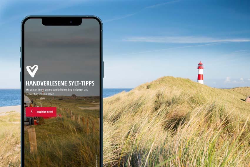 Tourismus Referenzen mit SEO und Content Marketing für die Sylt Marketing